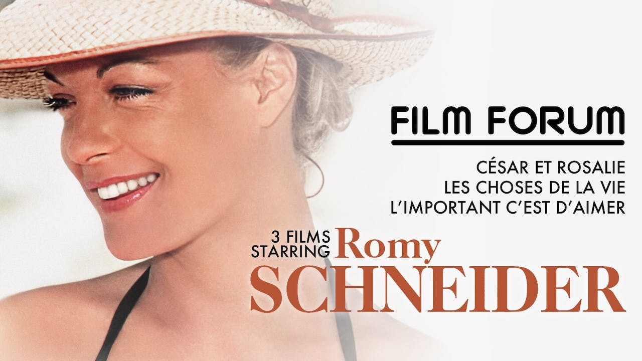 FILM FORUM presents THE ROMY SCHNEIDER COLLECTION