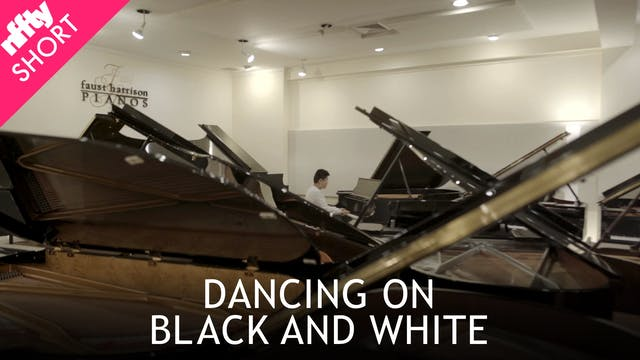 Dancing on Black and White