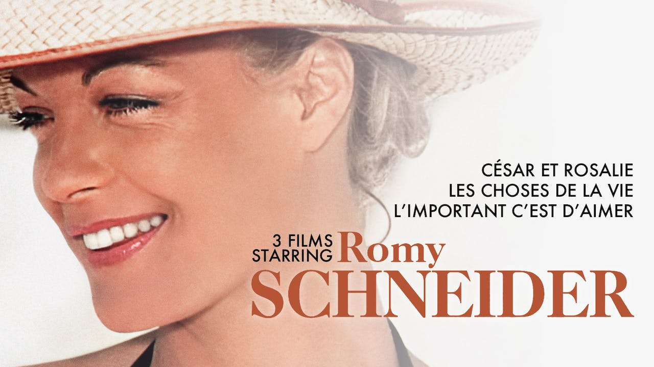 THE MOVIEHOUSE presents ROMY SCHNEIDER COLLECTION