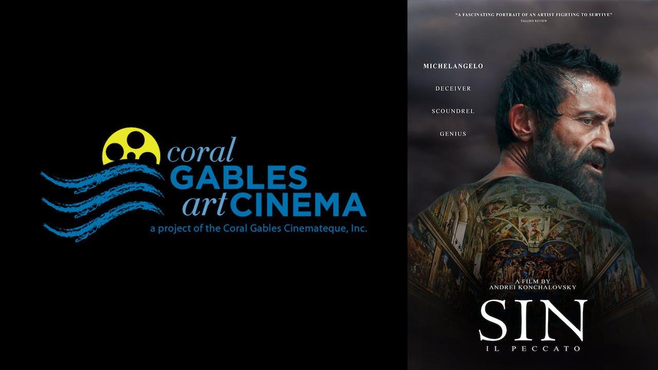 CORAL GABLES ART CINEMA presents SIN