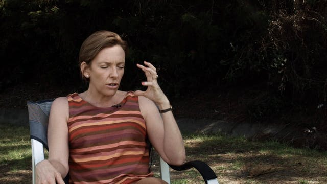 Toni Collette interview on the set of...