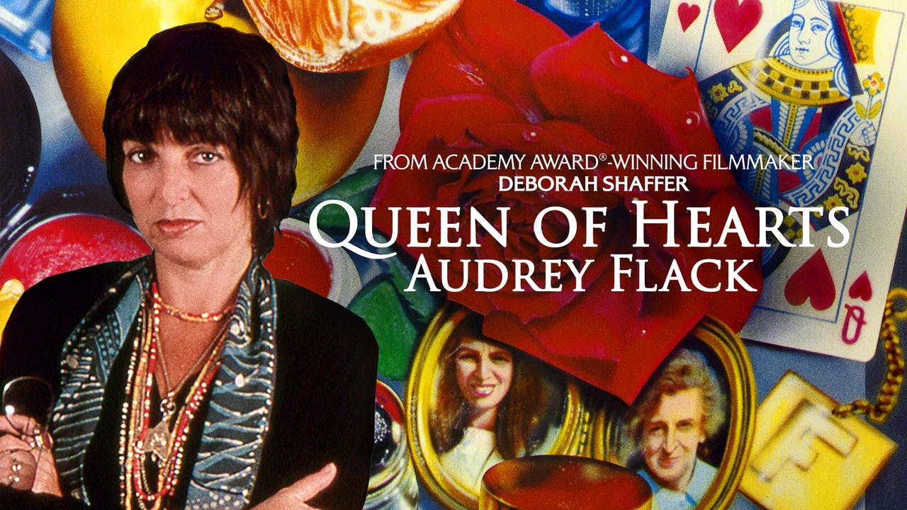 SALINA ARTS CENTER - QUEEN OF HEARTS: AUDREY FLACK