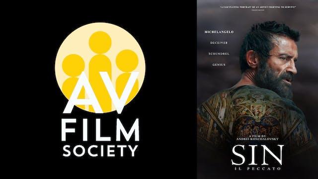 ALEXANDER VALLEY FILM SOCIETY presents SIN