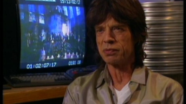 Mick Jagger Interview