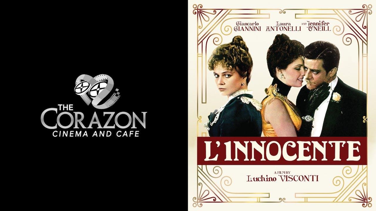 CORAZON CINEMA AND CAFE presents L'INNOCENTE