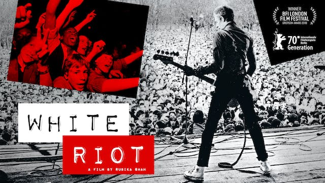 PICKFORD FILM CENTER presents WHITE RIOT