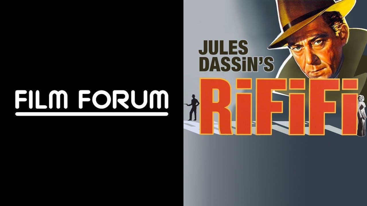 FILM FORUM presents RIFIFI