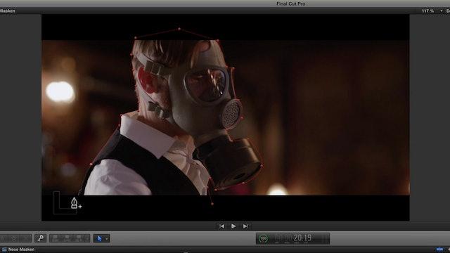 02 Form- und Gezeichnete Masken