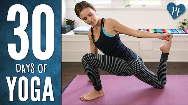 Day 14 - Mindful Hatha Yoga Workout