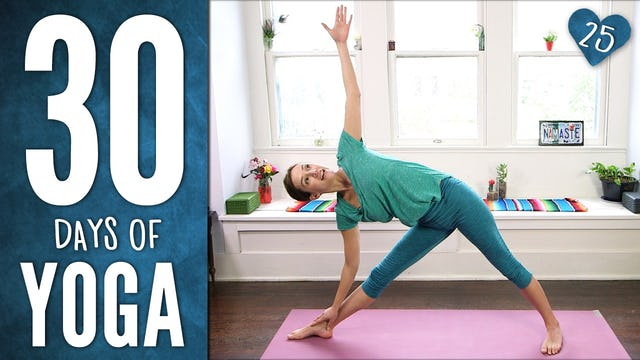Day 25 - Dancing Warrior Yoga Sequence