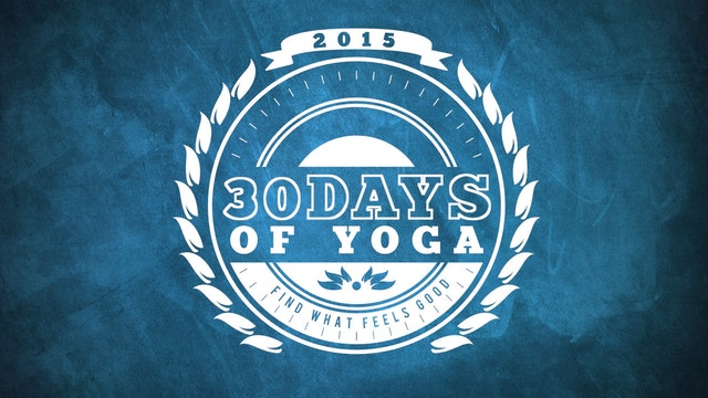 30 days of yoga. Black Bedroom Furniture Sets. Home Design Ideas