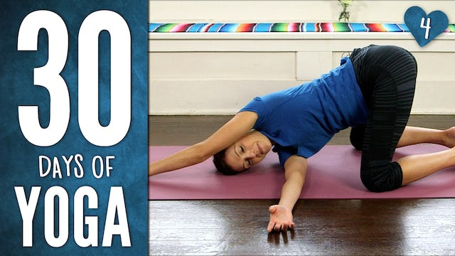 Day 4  - Yoga For Your Back