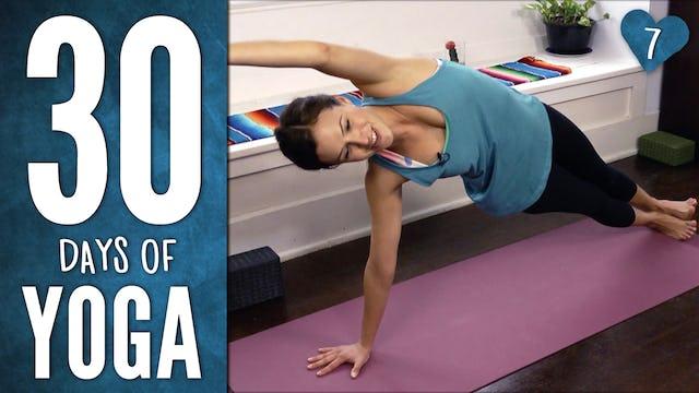 Day 7 - Total Body Yoga