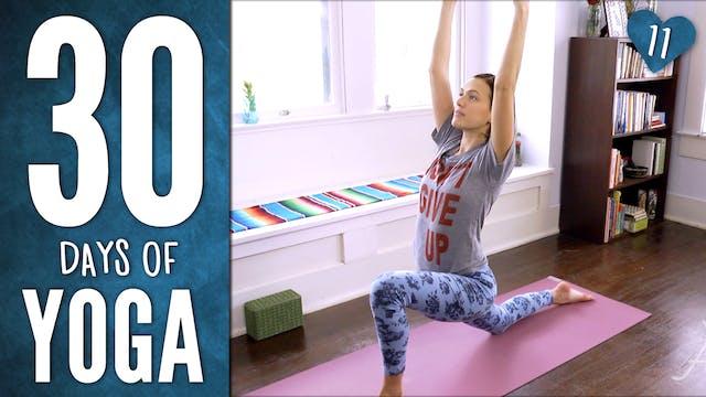 Day 11 - Shakti Yoga Practice (23 min.)