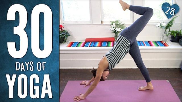 Day 28 - Playful Yoga Practice