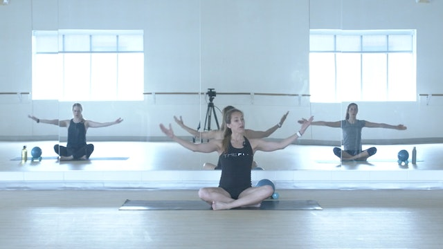 10/1 Pilates/Barre with Anna