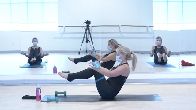 1/19 Pilates/Barre with Lisa Marie