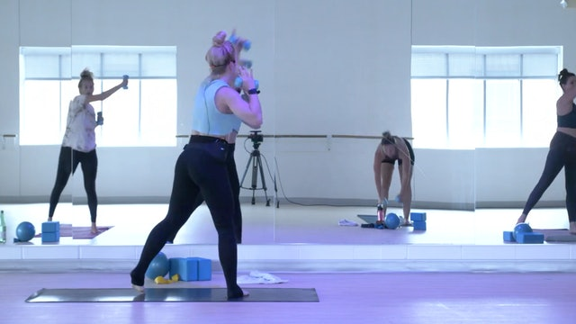 7/23 Pilates/Barre with Maddy