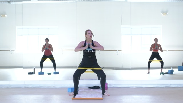 8/17 Pilates Barre with Lisa Marie