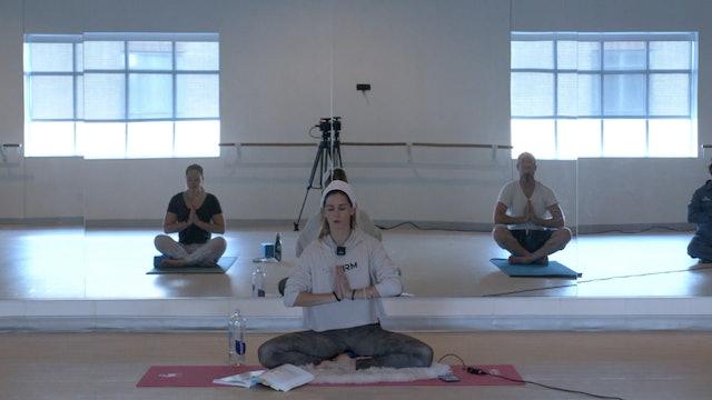 Kundalini Yoga with Greta - Recorded LIVE on 10/13/2020