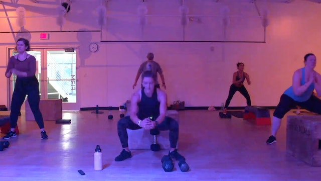 9/30 HIIT Strength with Kristen