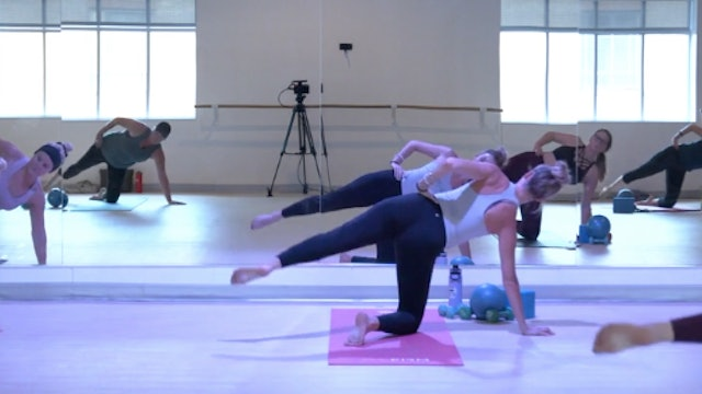 Barre with Greta - Recorded LIVE on 11/19/2020