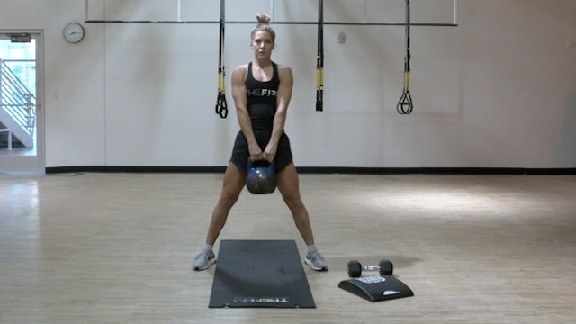 HIIT Strength with Kristin - Recording LIVE on 8/13/2020