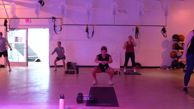 5/18 HIIT Strength 30 with Kristen E.