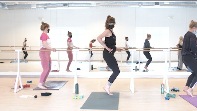 3/23 Pilates/Barre with Elinor