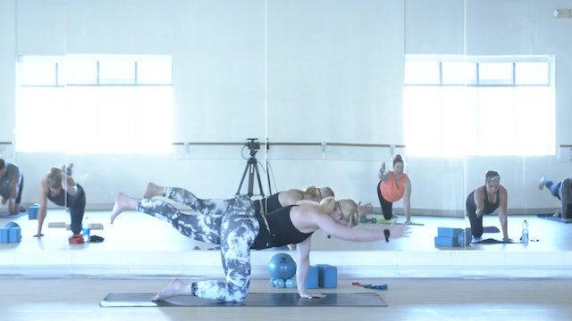 8/13 Pilates/Barre with Maddy
