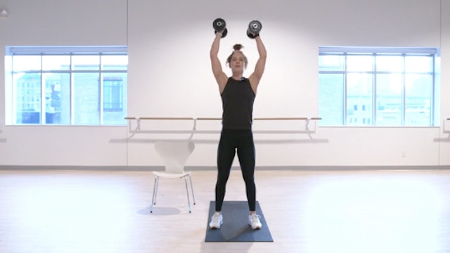 HIIT Strength 30 with Kristin E - Recorded LIVE on 12/1/2020