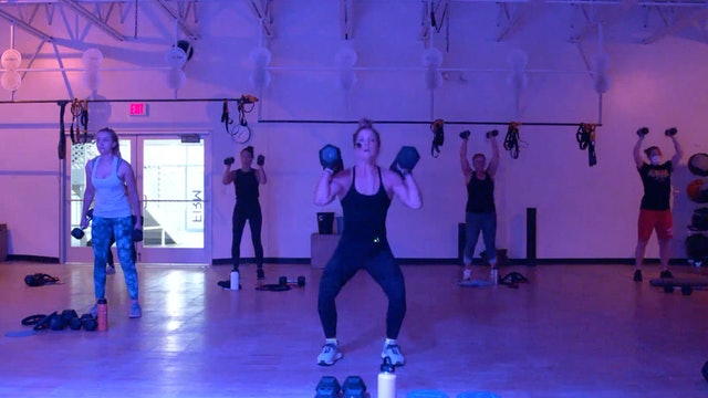 8/19 HIIT Strength with Kristen