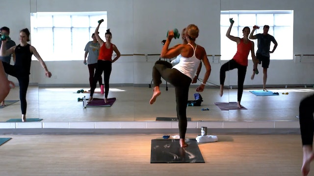 Sun Barre/Pilates 45 with Carrie