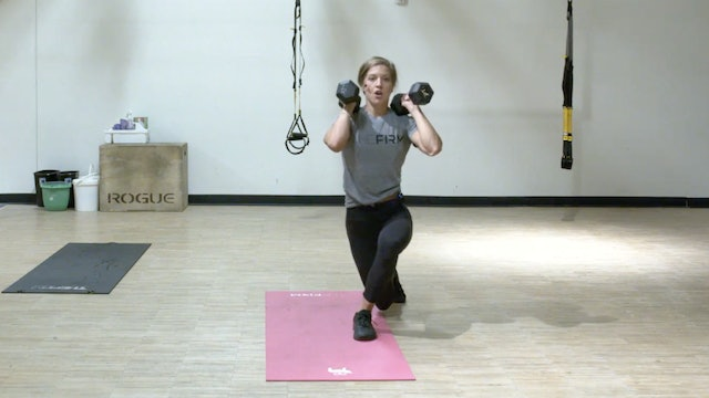 HIIT Strength with Kristin Egan - Recorded LIVE on 8/27/2020
