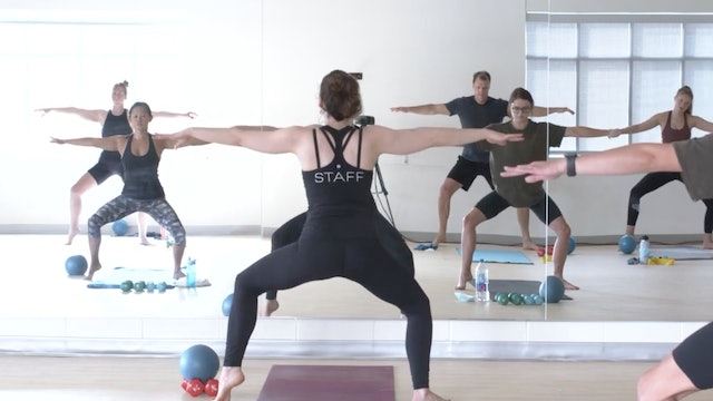 Barre with Megan - Recorded LIVE on 9/13/2020