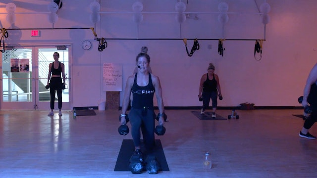 8/17 HIIT Strength 30 with Kristen E.