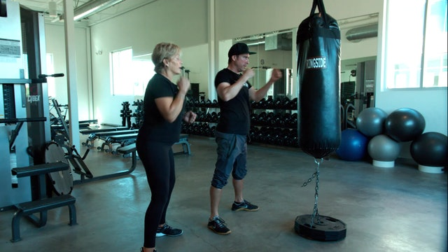 Bag Boxing Intro with Lori & Neil