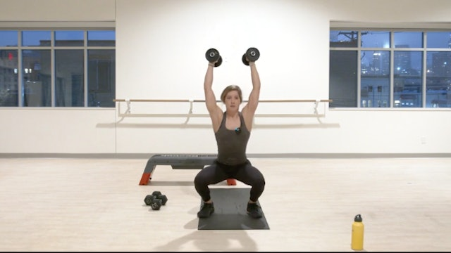 12/8 HIIT Strength with Kristin