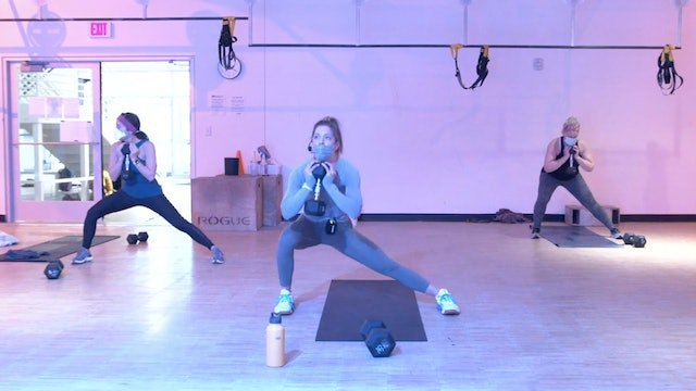 2/18 HIIT Strength 30 with Kristin E