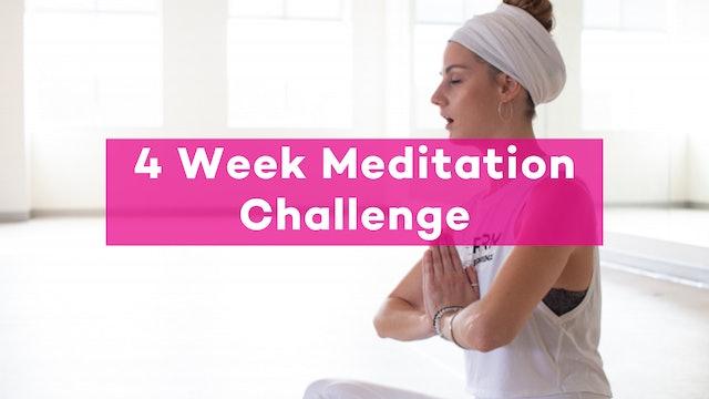 4-Week Meditation Challenge