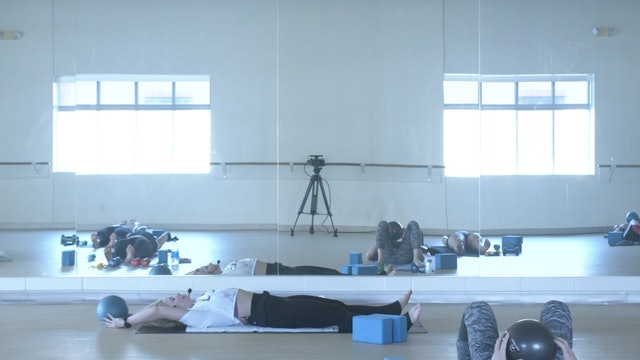 8/20 Pilates/Barre with Maddy