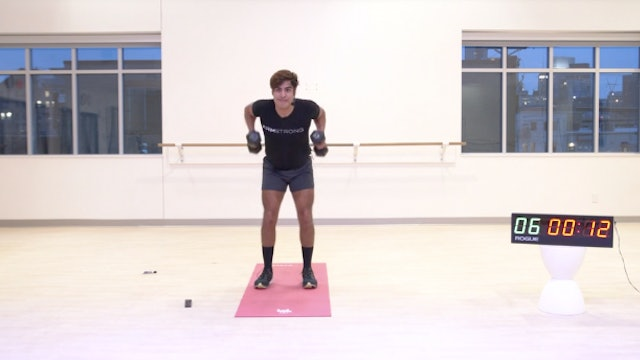 12/11 HIIT Strength with Leon