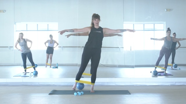 9/10 Pilates/Barre with Elinor