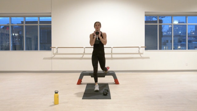 12/17 HIIT Strength with Kristin E