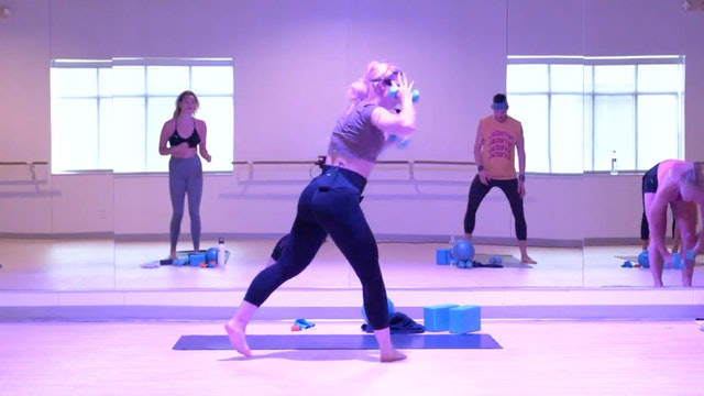 8/10 Pilates/Barre with Maddy