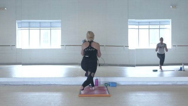 8/31 Pilates/Barre with Lisa Marie