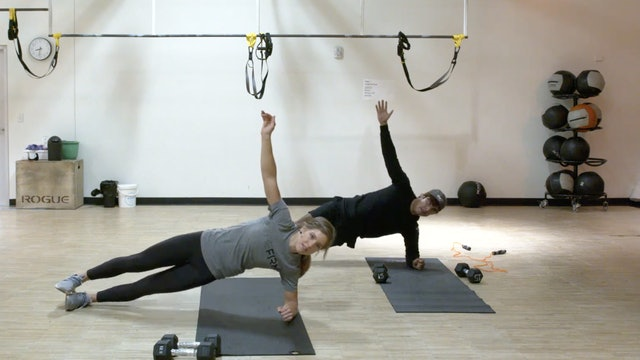 HIIT Strength with Kristin - Recorded LIVE on 9/8/2020