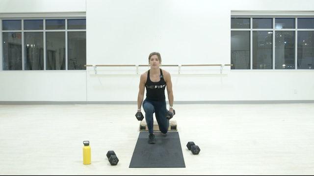 12/29 HIIT Strength Kristin E