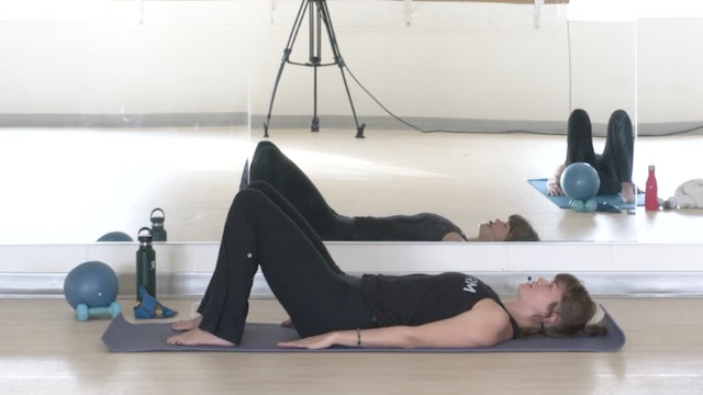 Pilates/Barre with Elinor - Recorded LIVE on 10/20/20