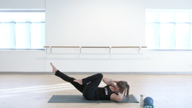 Pilates/Barre with Elinor - Recorded LIVE on 12/1/2020